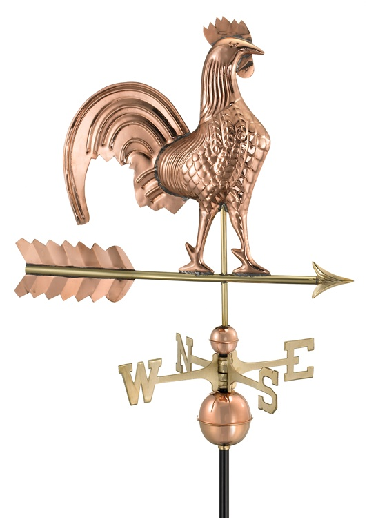 """25"""" Rooster Weathervane -0"""