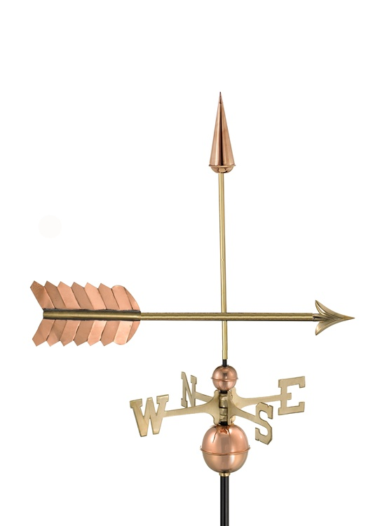 Arrow Pure Handcrafted Copper Weathervane -112