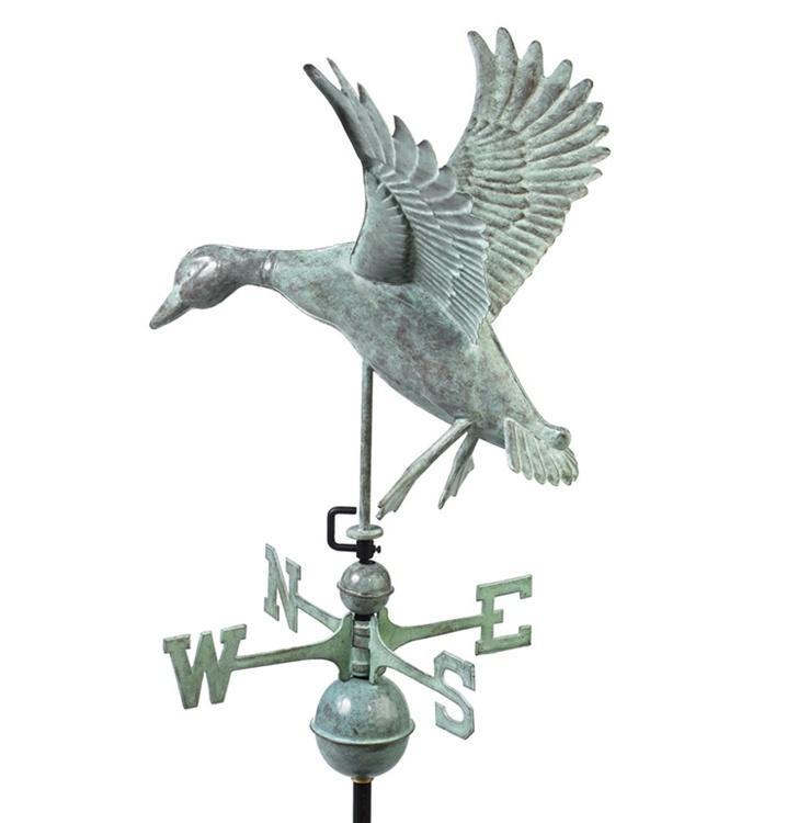 Landing Duck Weathervane -60