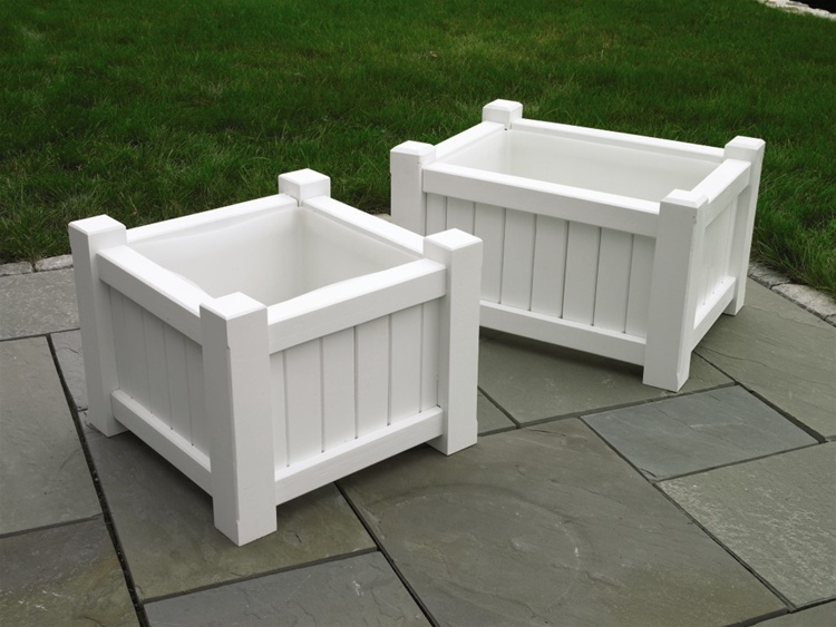 Good Directions Cedar Square & Rectangular Planters-0