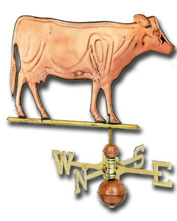 Cow Copper Weathervane-0