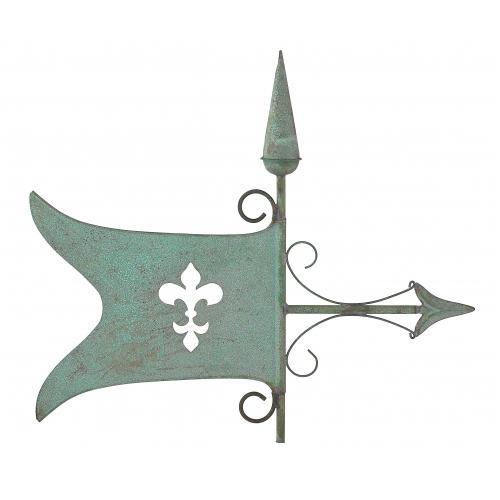 Banner Copper Weathervane-3964