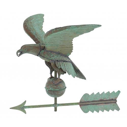 American Eagle Copper Weathervane-3915