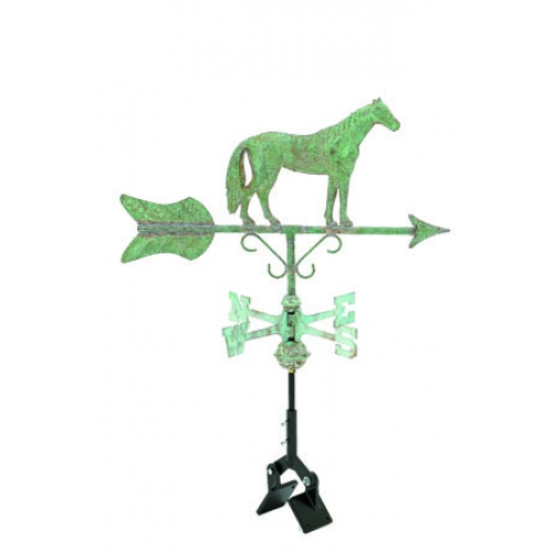 Horse Garden Copper Weathervane-3990