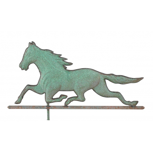 Running Horse Copper Weathervane-3945