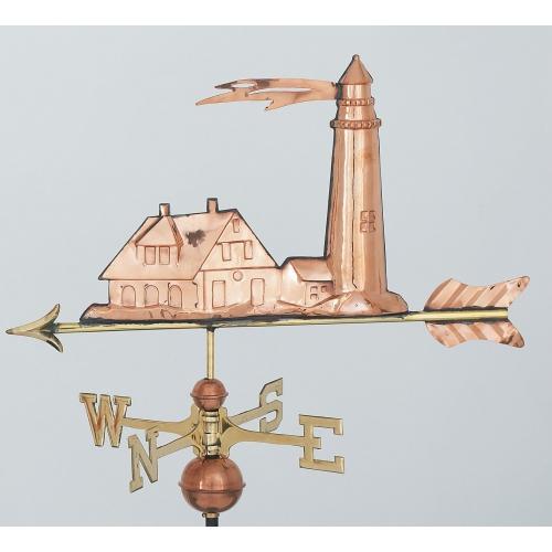 Lighhouse Copper Weathervane-3893