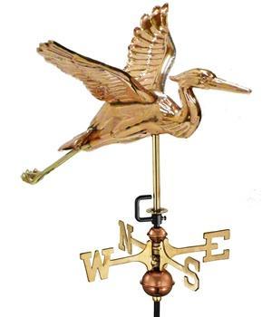 American Standard Blue Heron Weathervane-572
