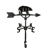 "32"" Bear Aluminum Weather Vane-1087"