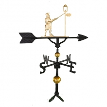 """Old Barn Rustic Co. 32"""" Deluxe Lamplighter Weathervane -1267"""