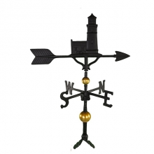 """Old Barn Rustic Co. 32"""" Deluxe Cape Cod Lighthouse Aluminum Weathervane-1372"""