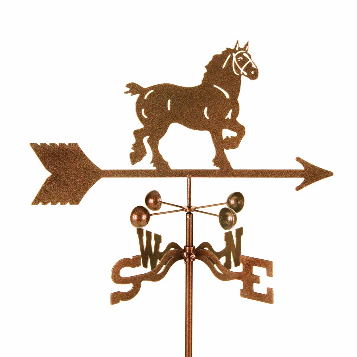 Draft Horse Weathervane -0