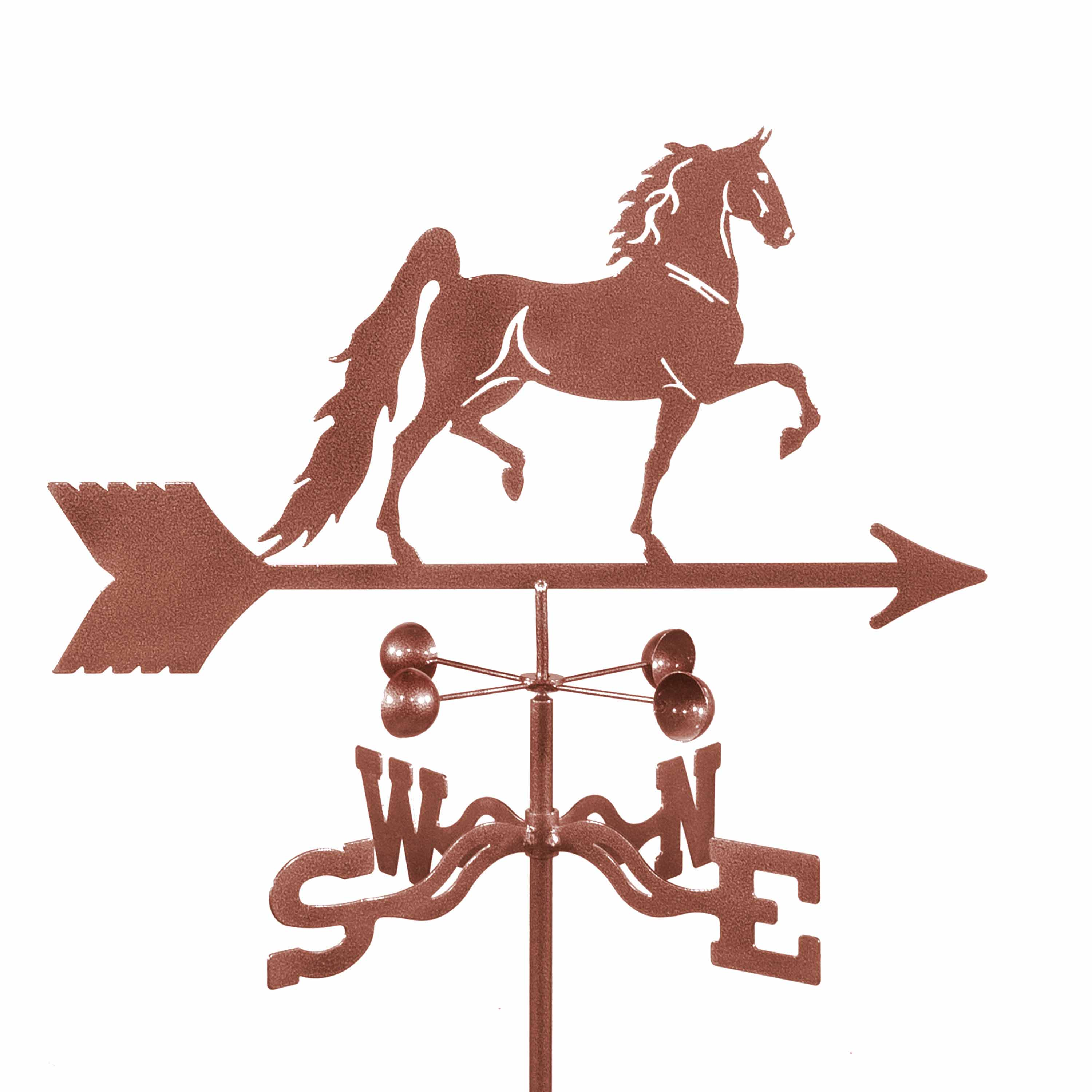 Saddlebred Horse Weathervane -0