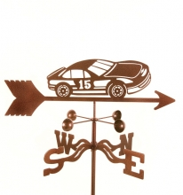 Race Car #15 Weathervane-0