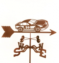 Race Car # 20 Weathervane-0