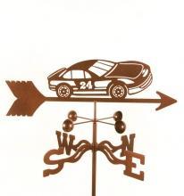Race Car # 24 Weathervane-0