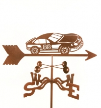 Race Car # 88 Weathervane-0