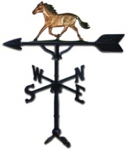 """Old Barn Rustic Co. 32"""" Horse Weather Vane-0"""