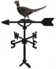 """Old Barn Rustic Co. 32"""" Pheasant Steel Weather Vane-0"""