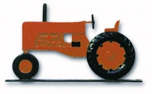 "32"" Tractor Weather Vane Orange-0"