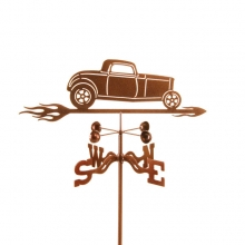 1932 Ford 3 Window Car Weathervane-0