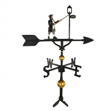 """Old Barn Rustic Co. 32"""" Deluxe Lamplighter Weathervane -0"""
