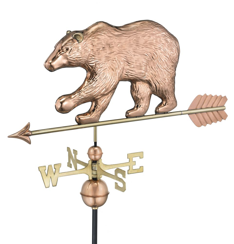 Good Directions Bear Weathervane 310S With Arrow-0
