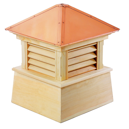"84"" sq. x 113"" Manchester Wood Cupola-0"