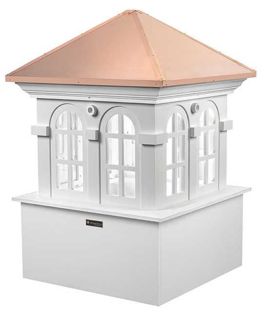 "48"" sq. x 70"" high Chesapeake Vinyl Cupola -0"