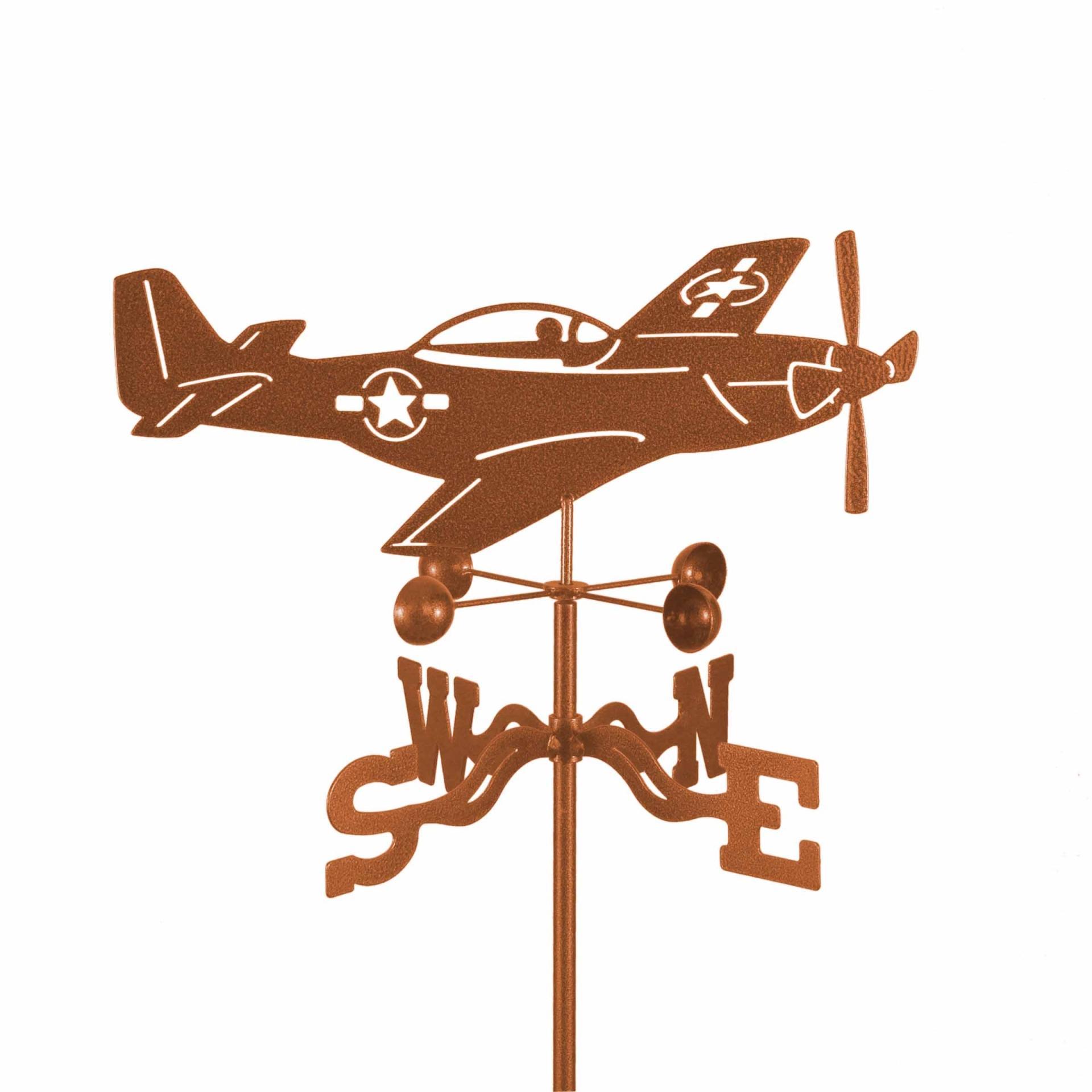 P-51 Mustang Airplane Weathervane-0