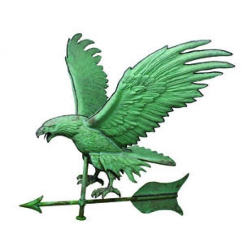 Jumbo Eagle Copper Weathervane-3837