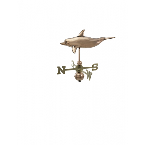 Dolphin Copper Weathervane-0
