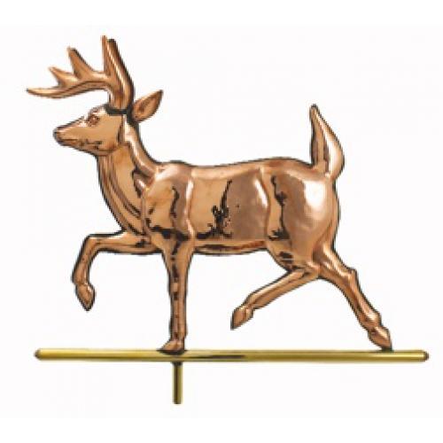 Walking Deer Copper Weathervane-0