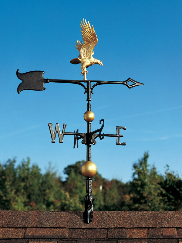 "30"" Full-Bodied Eagle Weathervane-0"