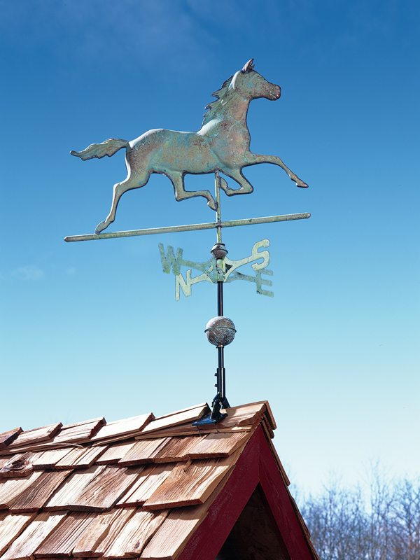 Copper Horse Weathervane-4189