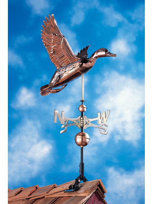 Copper Duck Weathervane-0