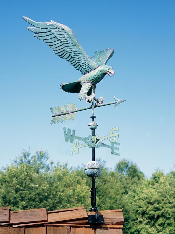 Copper Eagle Weathervane-4199