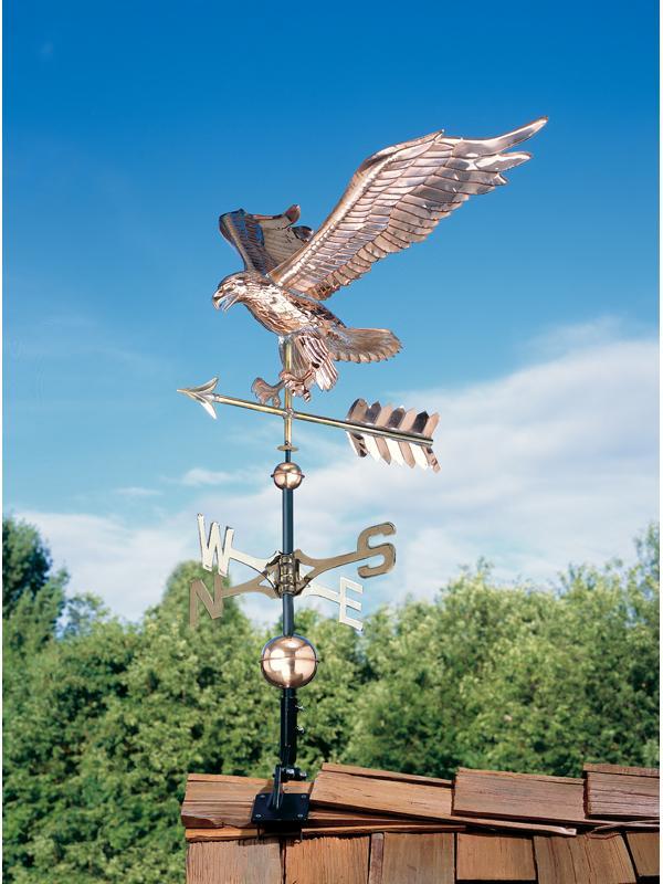 Copper Eagle Weathervane-0