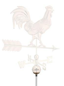 "Brass Ring & Set Screw For Standard Size 3/4"" Weathervane Rod-4175"