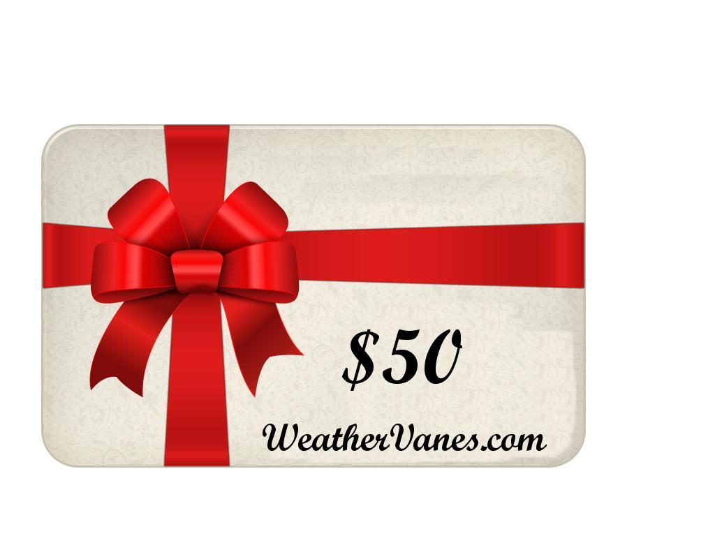 WeatherVanes.com Gift Card-0