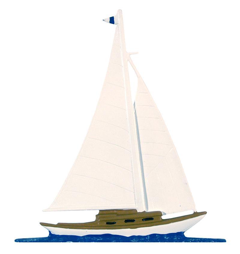 "30"" Sailboat Weathervane-0"