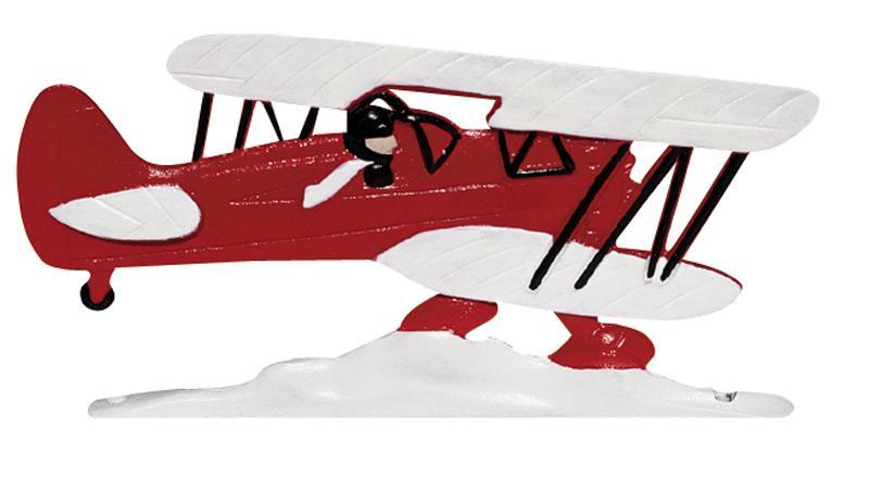 "30"" Antique Biplane Airplane Weathervane-0"