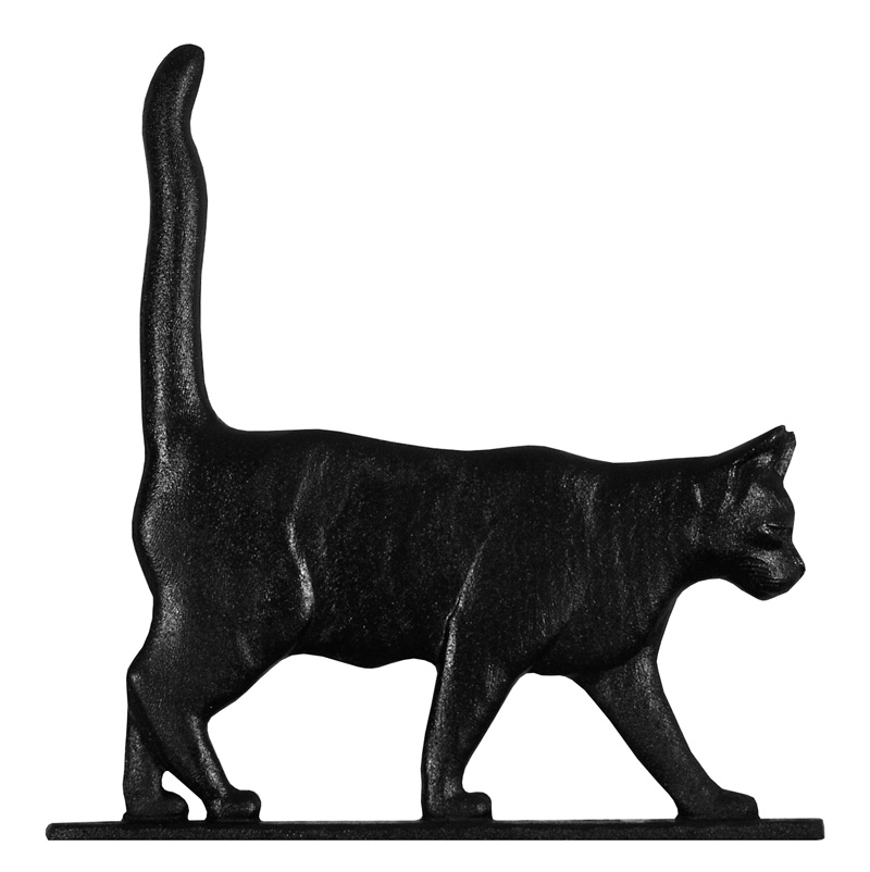 "30"" Cat Standing Weathervane-4368"