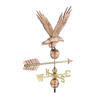 American Freedom Eagle Weathervane Handcrafted From Pure Copper-4654