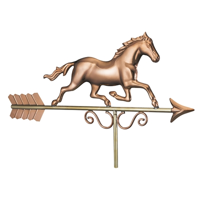 Hand Crafted American Galloping Horse Weathervane-4643