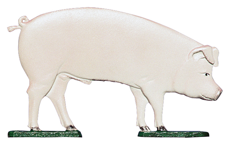 "30"" Pig Weathervane-0"