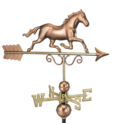 Hand Crafted American Galloping Horse Weathervane-0