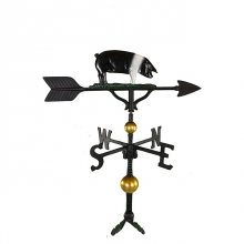 """Old Barn Rustic Co. 32"""" Deluxe Pig Aluminum Weathervane-1309"""
