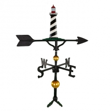 """Old Barn Rustic Co. 32"""" Deluxe Cape Cod Lighthouse Aluminum Weathervane-1370"""