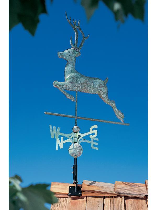 Copper Deer Weathervane-4207