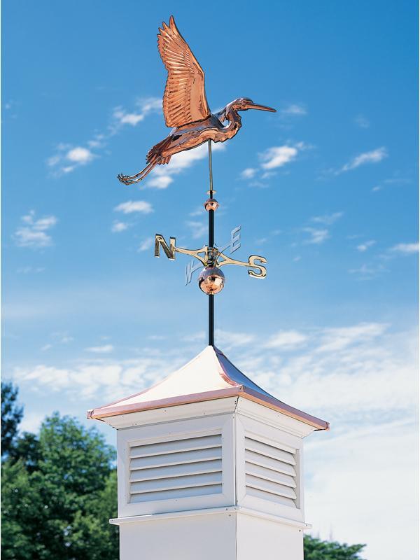 Copper Heron Weathervane-4194